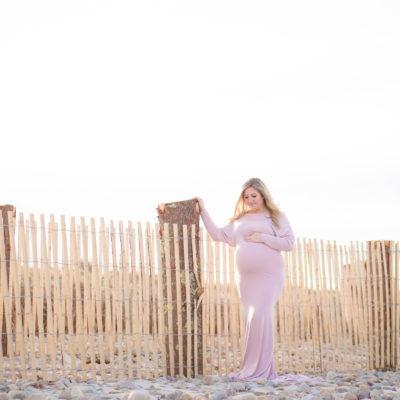 Beach Maternity Photo Session