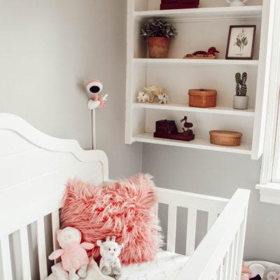 Boho Woodland Baby Girl Nursery Reveal