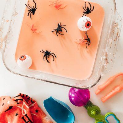 Halloween Sensory Bin Activities for Toddlers